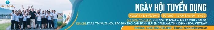 ALMA RESORT - Ngày hội Tuyển dụng