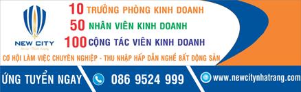 NewCity Nha Trang tuyển dụng