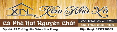 Cafe Xóm Nhà Lá 2 - 29 Trương Hán Siêu, Nha Trang - ĐT: 0937190609