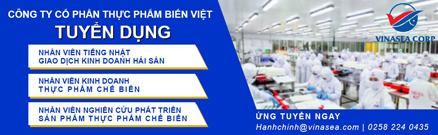 Công ty Biển Việt cần tuyển dụng