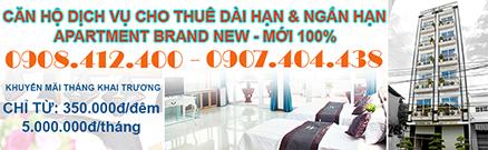 HÀ VIÊNG APARTMENT - CĂN HỘ CHO THUÊ DÀI HẠN VÀ NGẮN HẠN - Hotline: 0908.412.400