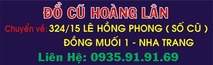 Đồ cũ Hoàng Lân - Nha Trang