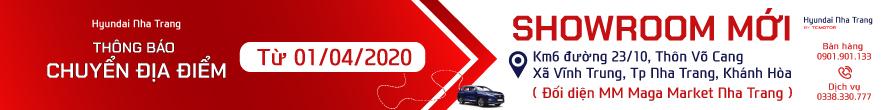 Hyundai Nha Trang showroom mới