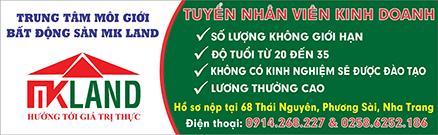 MK Land tuyển dụng nhân sự