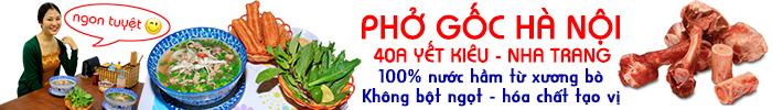 Phở Gốc - 40 Yết Kiêu - Nha Trang