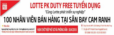 Công ty Lotte Phú Khánh tuyển dụng