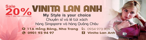 Vinita Mark - 11A Hồng Bàng, Nha Trang - Tel: 0934973909