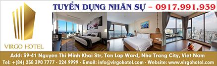 Khách sạn Virgo Hotel Nha Trang tuyển dụng